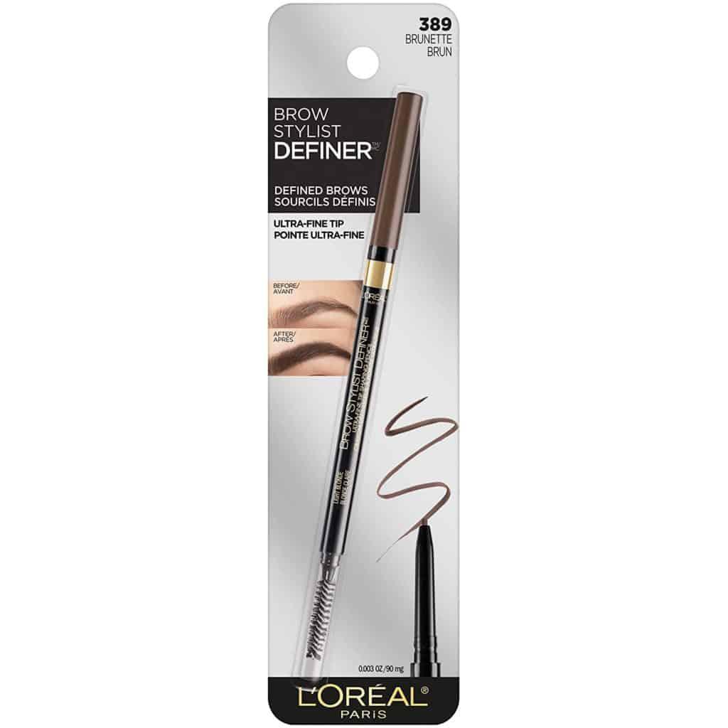 Loreal Paris Makeup Brow Stylist Definer Waterproof Eyebrow Pencil