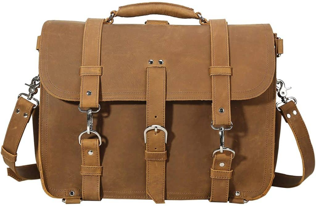 Polare Leather Laptop Bag