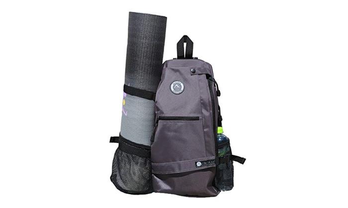 Aurorae Yoga Multi Purpose Crossbody Sling Back Pack