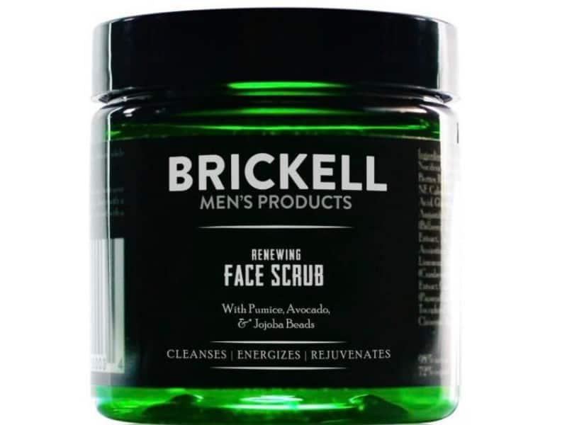 Face scrub exfoliator for men