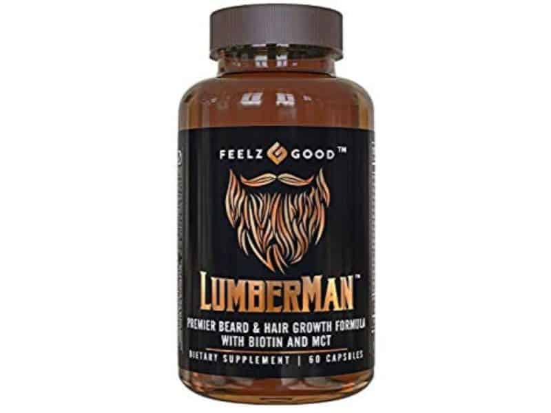 Feelz Good Lumberman Premier Beard and Hair Growth