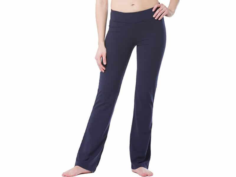 Fishers Finery Women's Ecofabric Bootleg Yoga Pant; Bootleg Athletic Pant