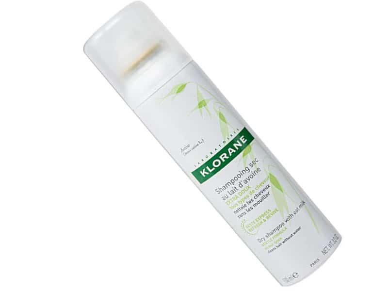 Klorane Extra Gentle Dry Shampoo with Oat Milk