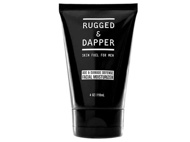 Rugged and Dapper Age + Damage Defense Facial Moisturizer For Men