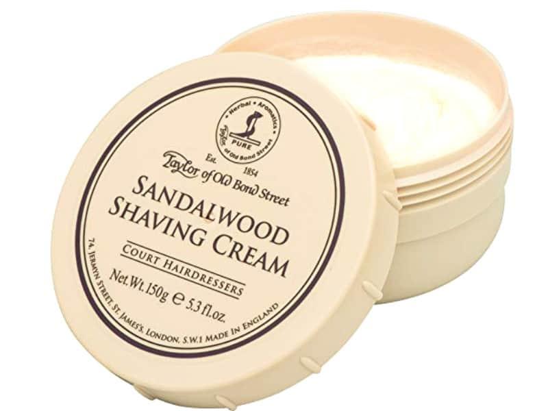 Taylor of Old Bond Street Sandalwood Shaving Cream (5.3 oz)