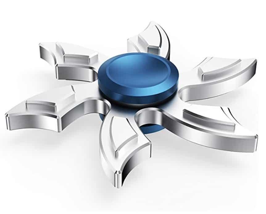Ultra Durable Aluminum Metal High-Speed Fidget Spinner