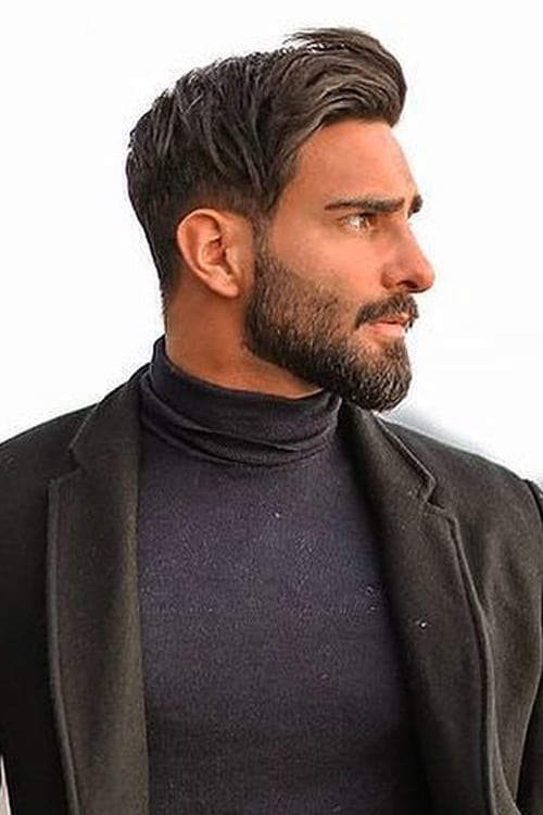 Man with comb over hairstyle