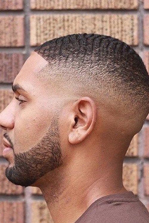 Man with Deep wave hairstyle