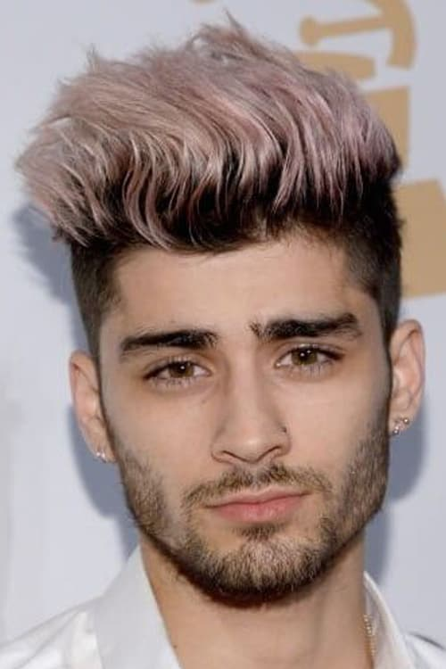 Man with Two tone hairstyle