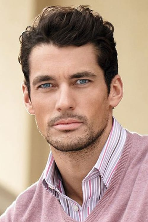 Man with business casual hairstyle