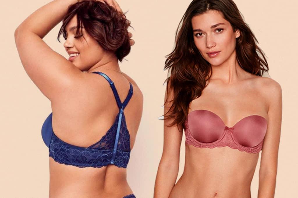 Women wearing best bras