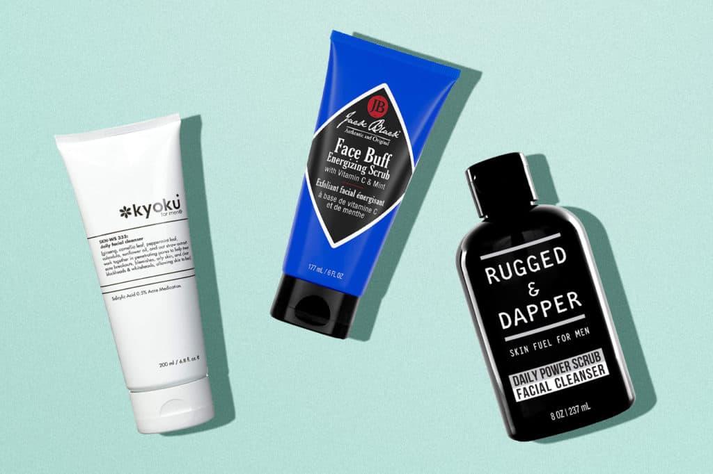 Best Facial Scrub Exfoliator for Men
