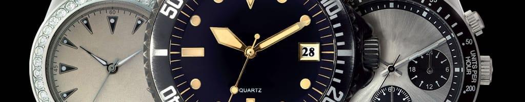 Three Quartz watches