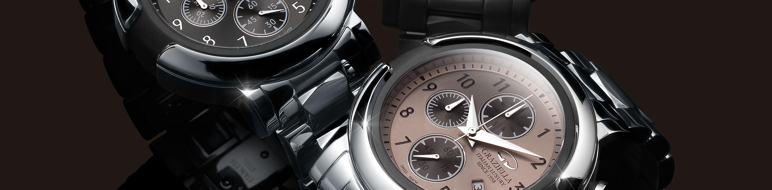 Automatice Graziella Metal watch