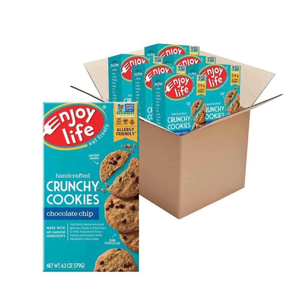 Enjoy Life Crunchy Gluten-Free Chocolate Chip Cookies