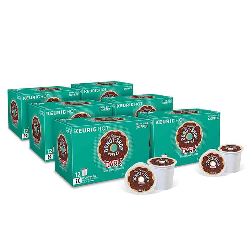 The Original Donut Shop Dark, Single-Serve Keurig K-Cup Pods