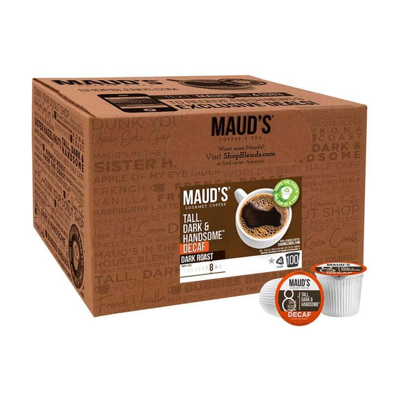 Maud's Dark Roast Decaf Coffee