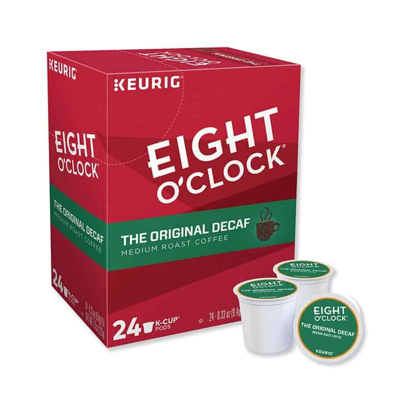 Eight O'Clock Coffee The Original Decaf, Single-Serve Keurig K-Cup Pods
