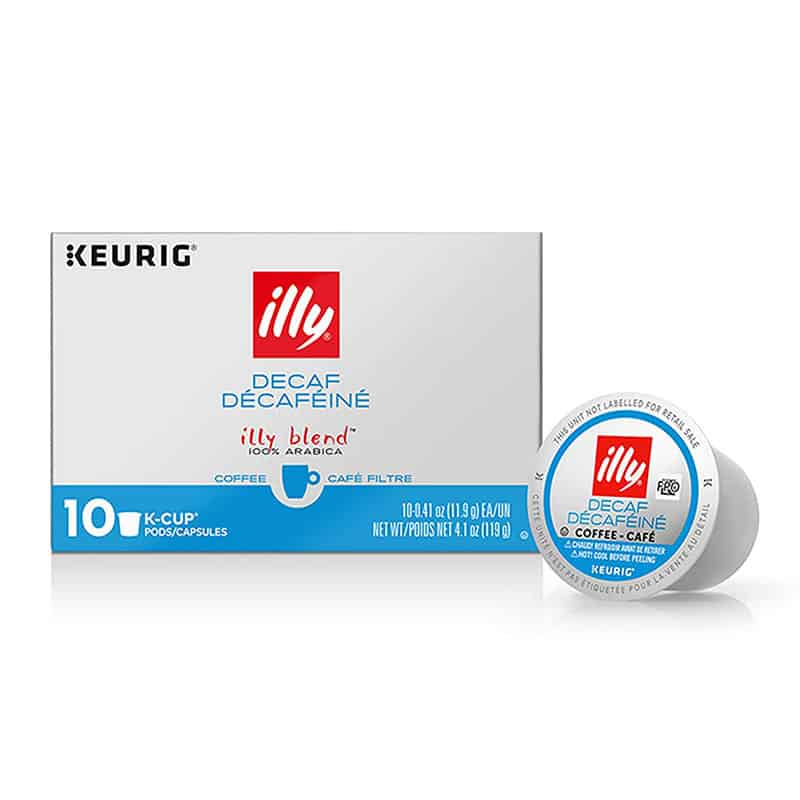 illy K-Cup Pods Decaffeinated Coffee