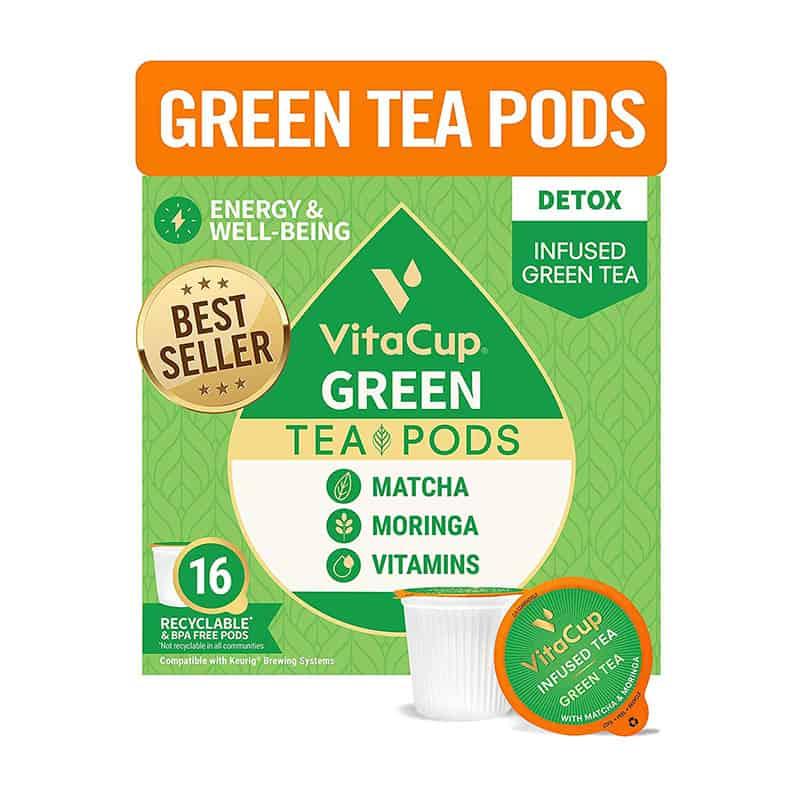 VitaCup Green Tea Pods