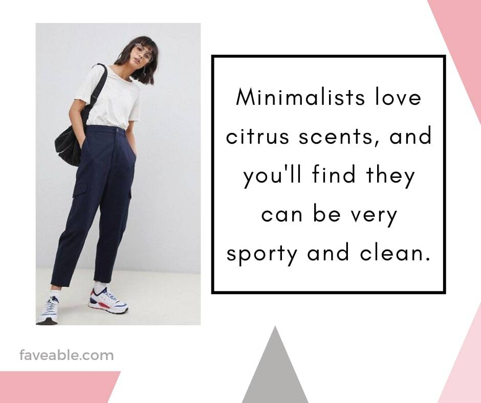 Minimalist love citrus scents