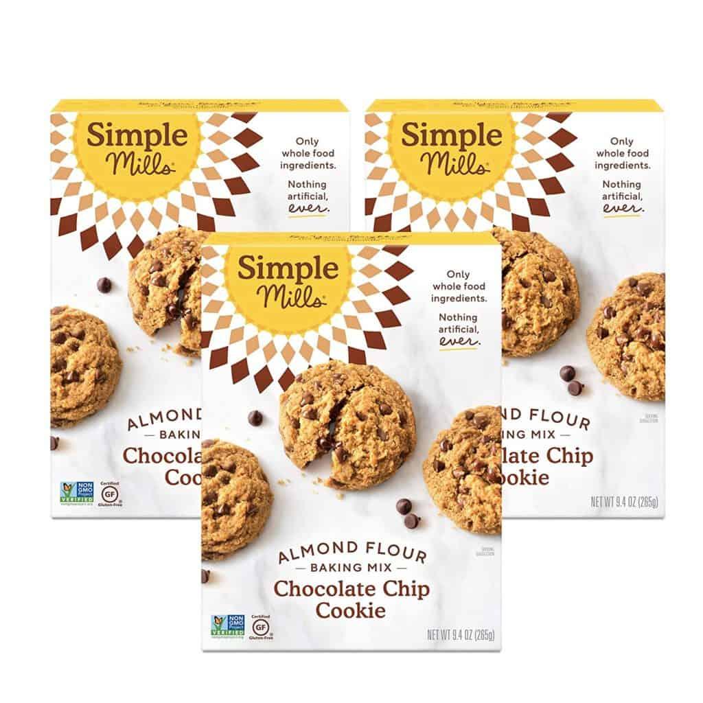Simple Mills Gluten-Free Chocolate Chip Cookie Mix