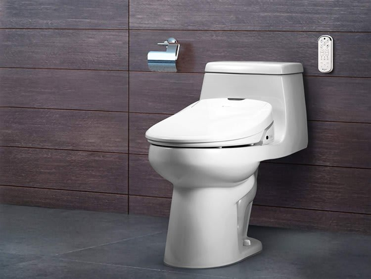 toilet with remote control