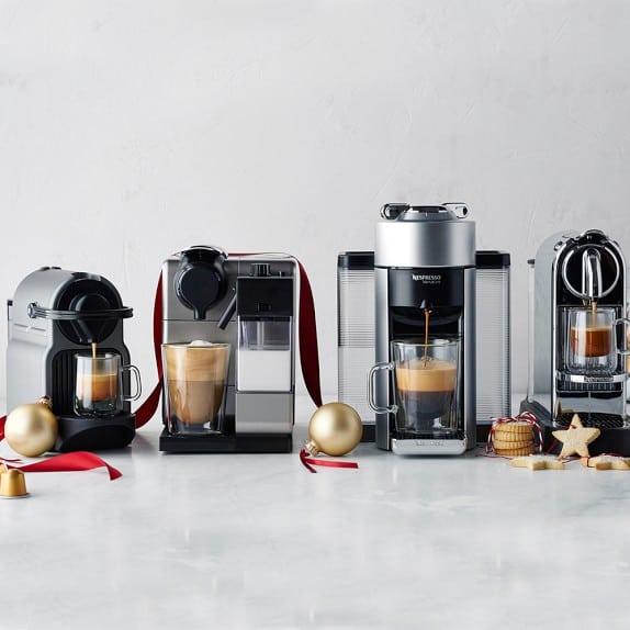 four espresso machines