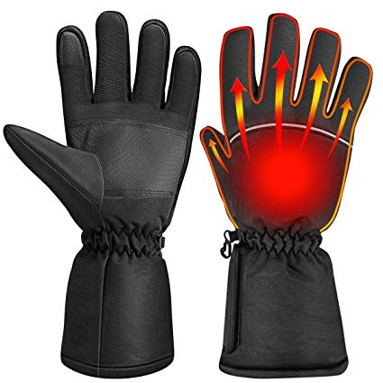 pair of heated gloves