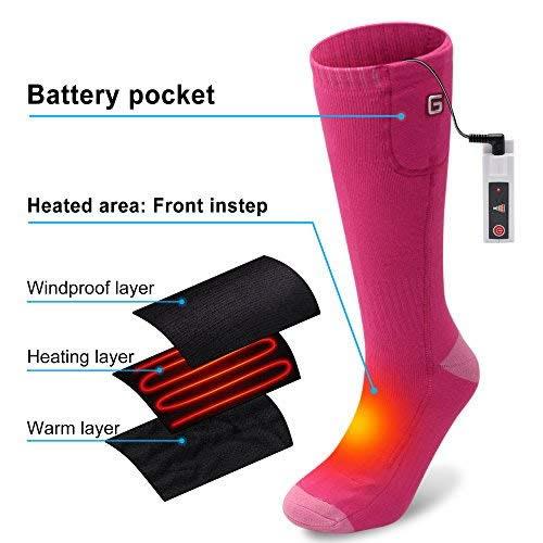 battery powered socks