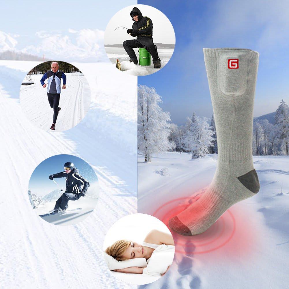 heated socks and outdoor activities