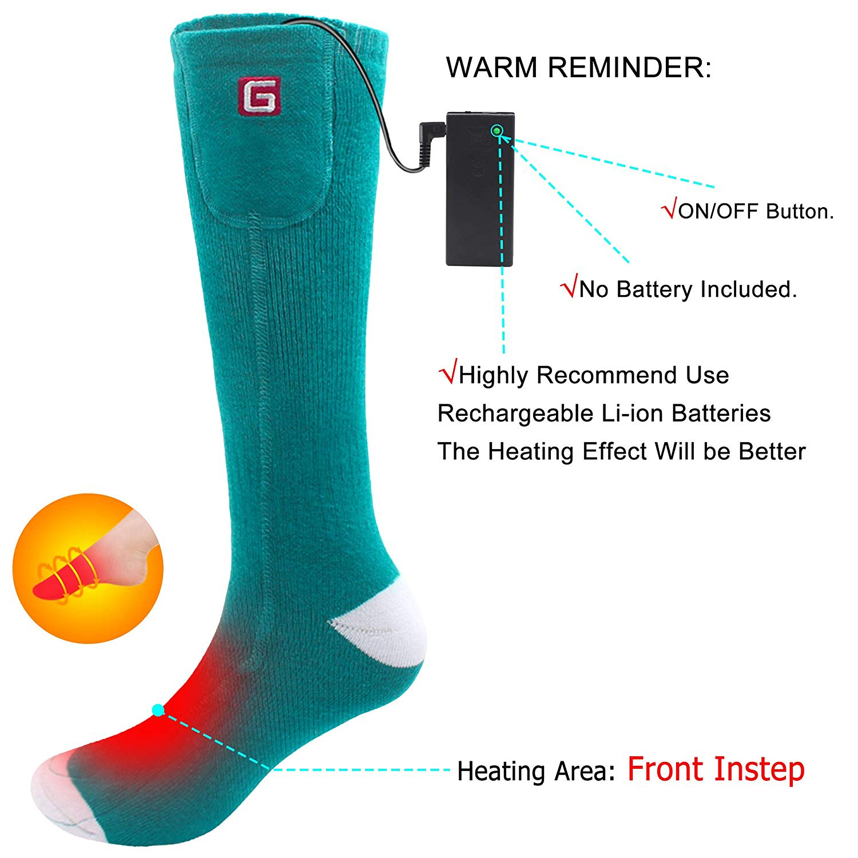heated socks warm reminder