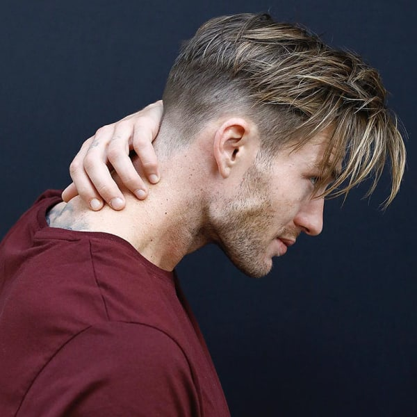 Modern Curtain Haircuts For Men 2021