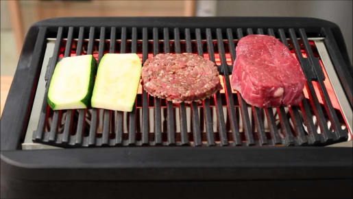 outdoor grill rack & topper
