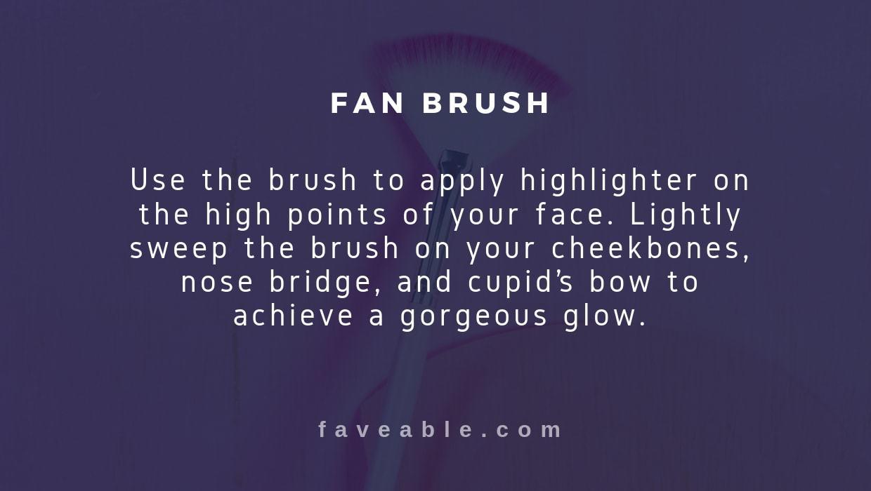 fan brush instructions