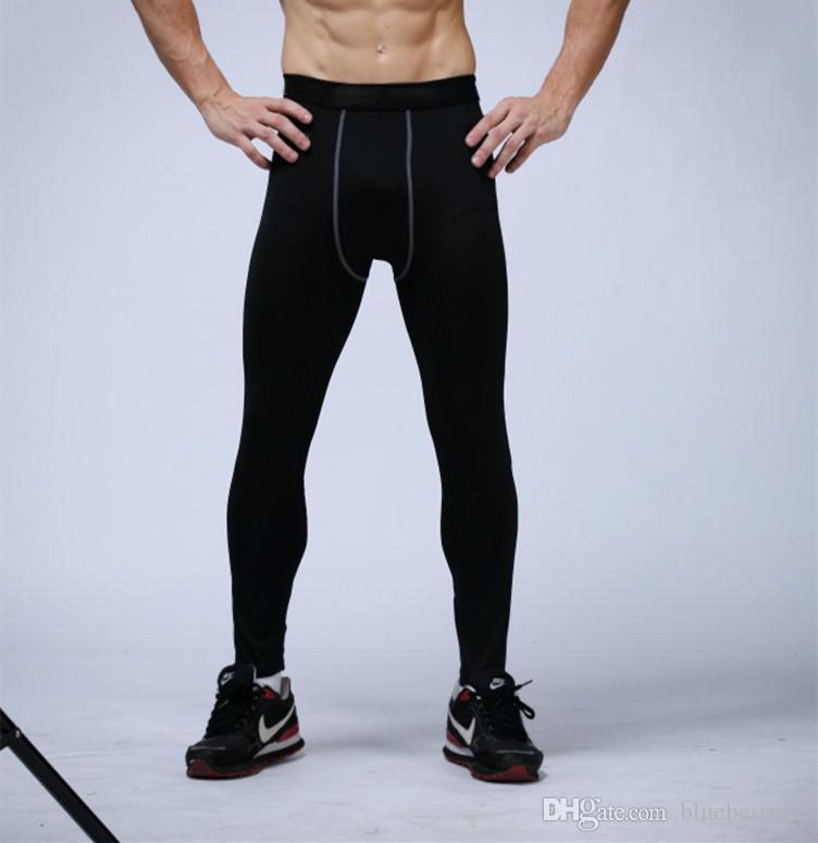 black compression pants