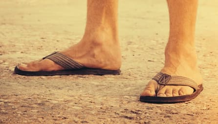 sandals pair with shorts