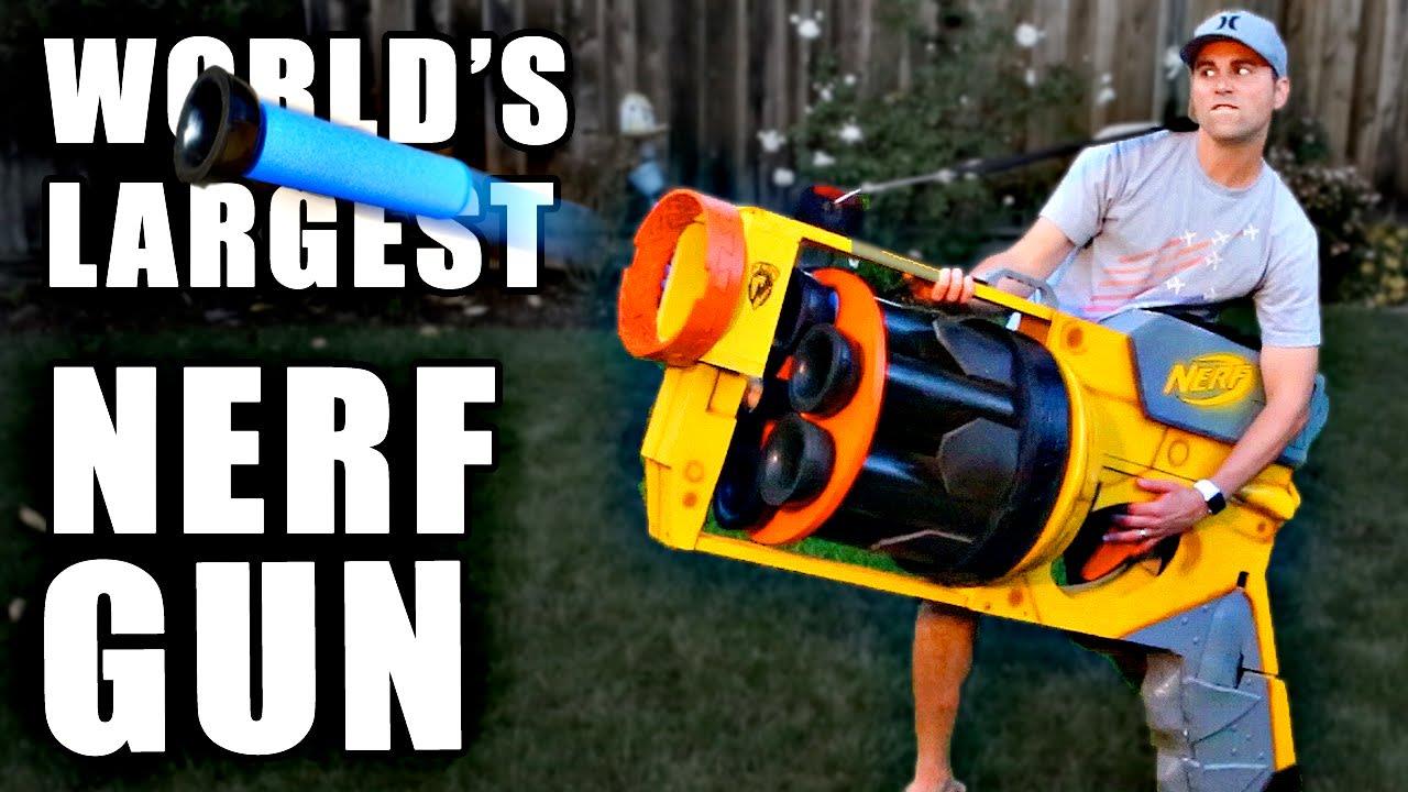 world's largest nerf gun