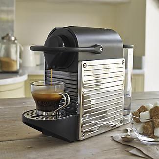 stainless steel coffee pod machine