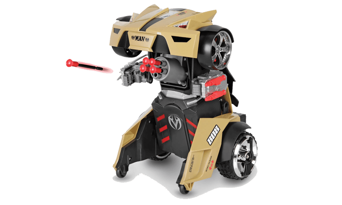 Remote Controlled Transforming Robot Car
