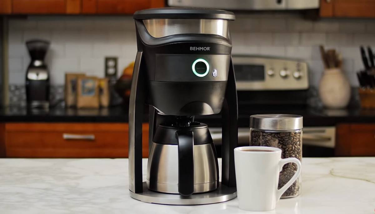 alexa smart coffee maker