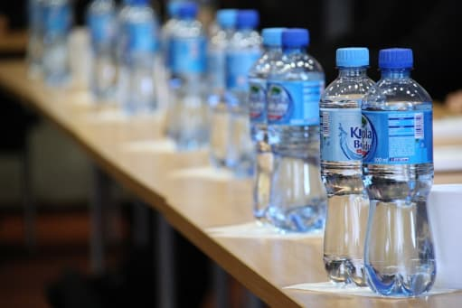 small bottled water