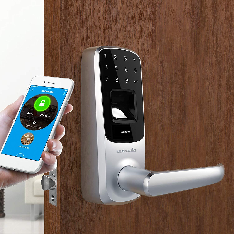 smart wifi door lock mobile app