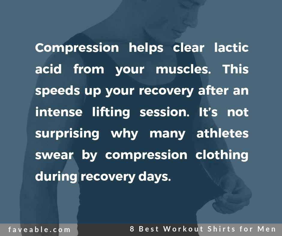 wearing of compression clothing