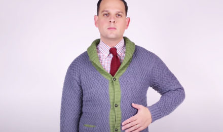 man explains how to prevent clothes from pilling