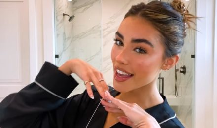 Madison Beer shares her guide to soap brows and easy blush