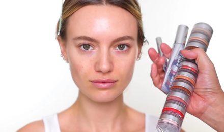 glowing spring makeup