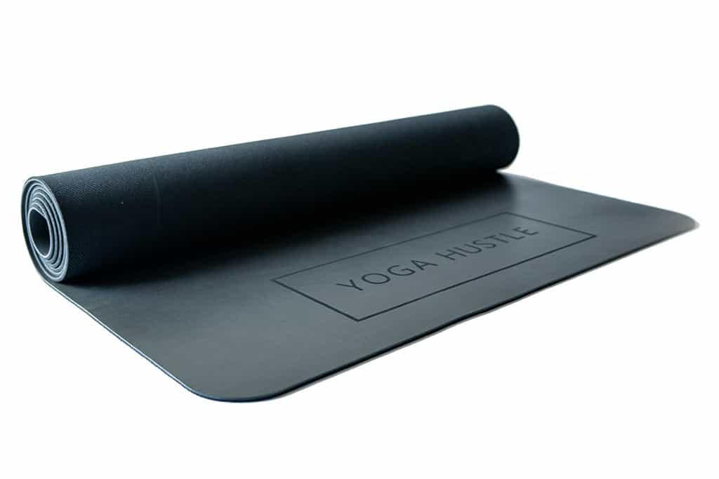 yoga hustle the mat